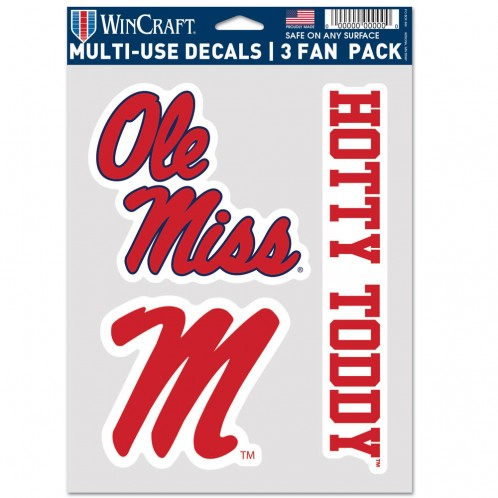 Multi-Use Decals Fan 3 Pack
