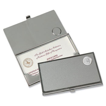 University of California Berkeley Seal Business Card Holder