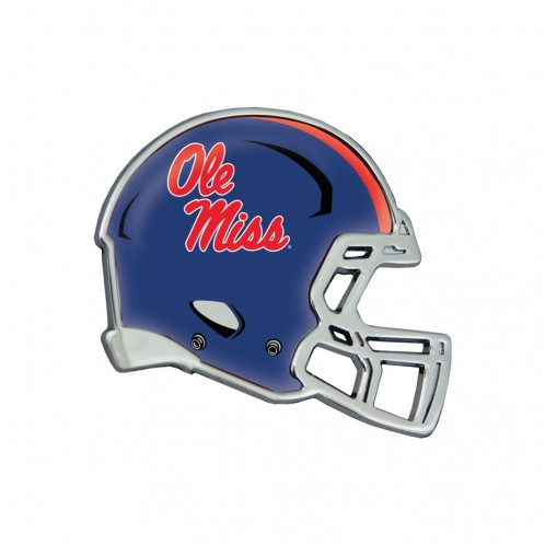Football Helmet Auto Emblem