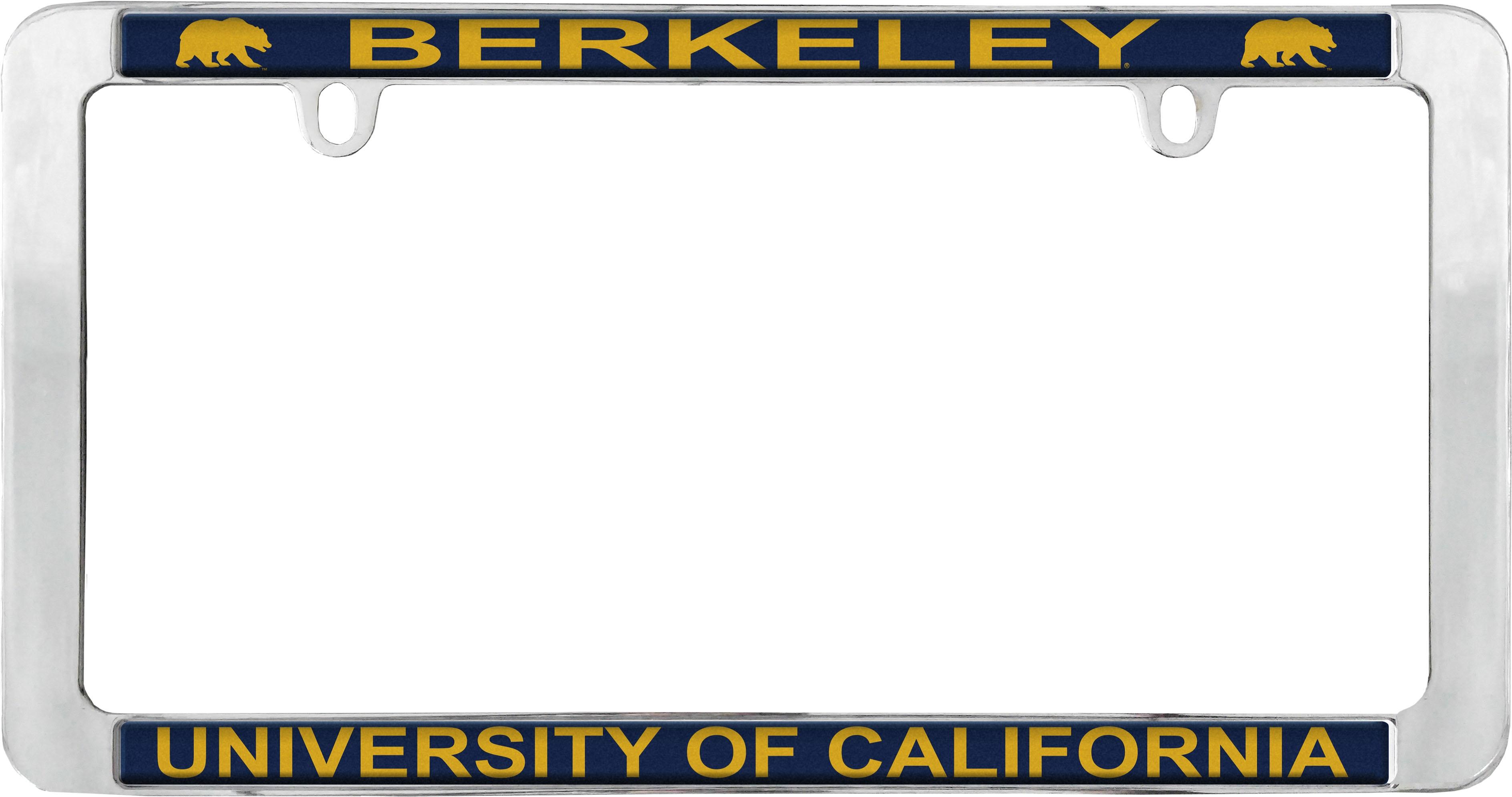University of California Berkeley License Plate Frame School Name