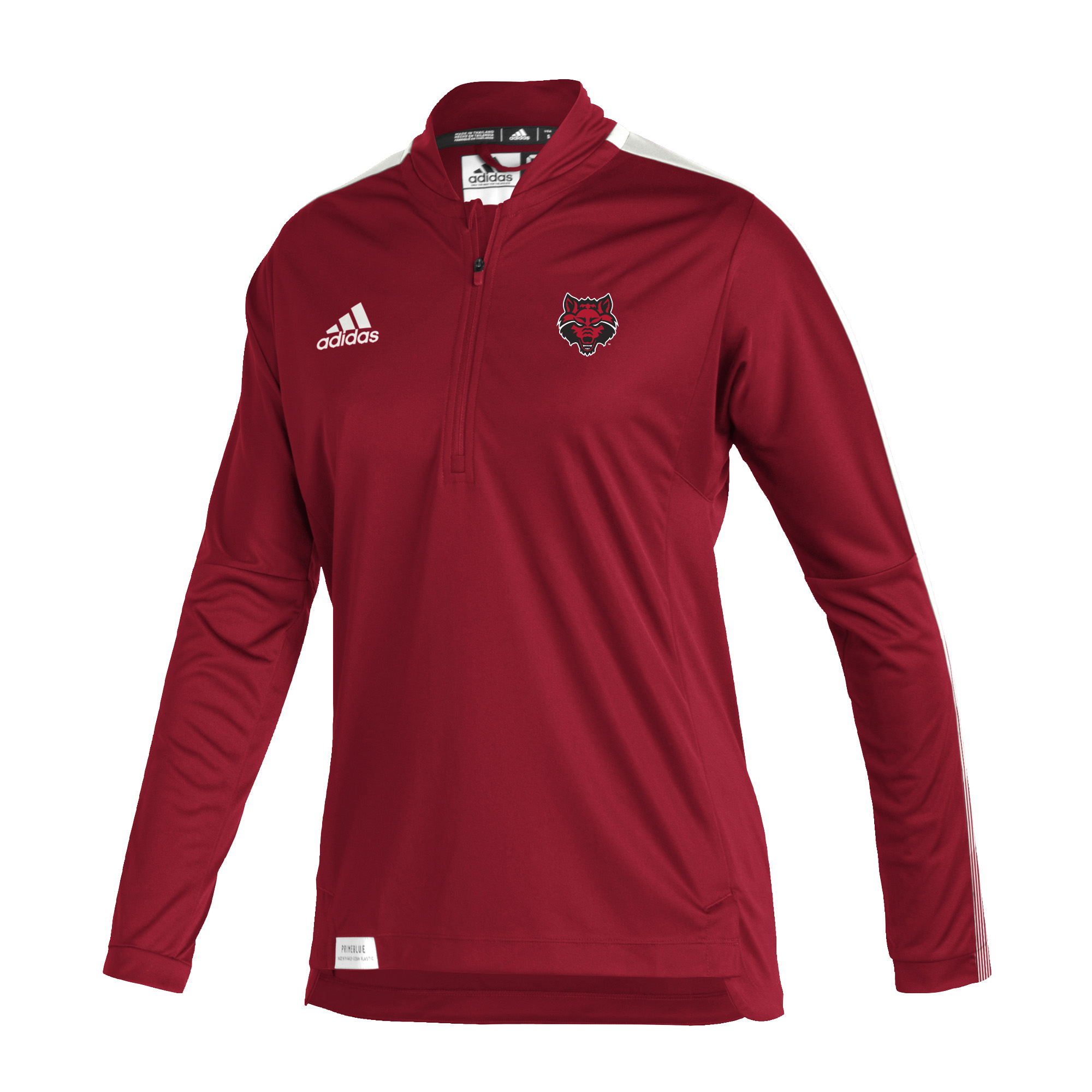 Red Wolves Sideline21 LS 1/4 Zip Knit Women's Pullover