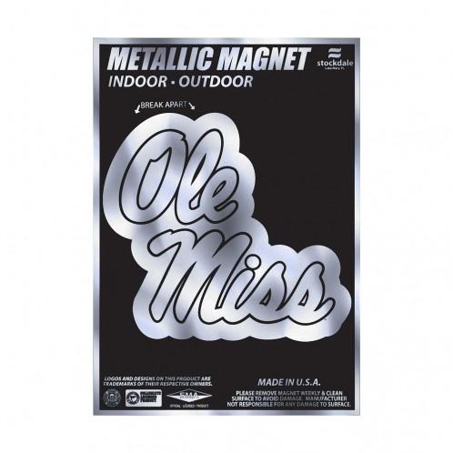Metallic Magnet Stacked Script 5x7