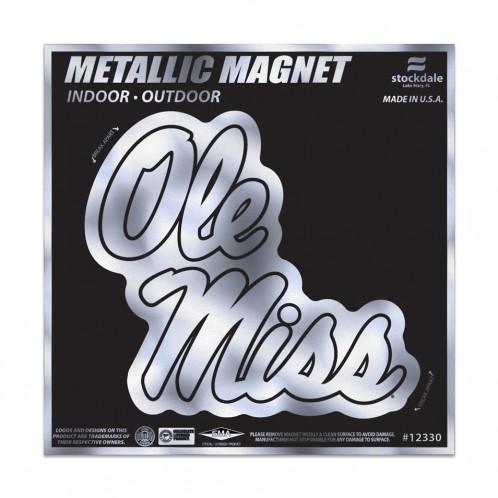 Metallic Magnet Script 6x6