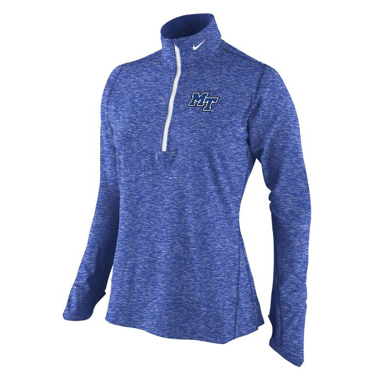 MT Logo Women's Nike® Dri-Fit Heather Element Training 1/4 Zip