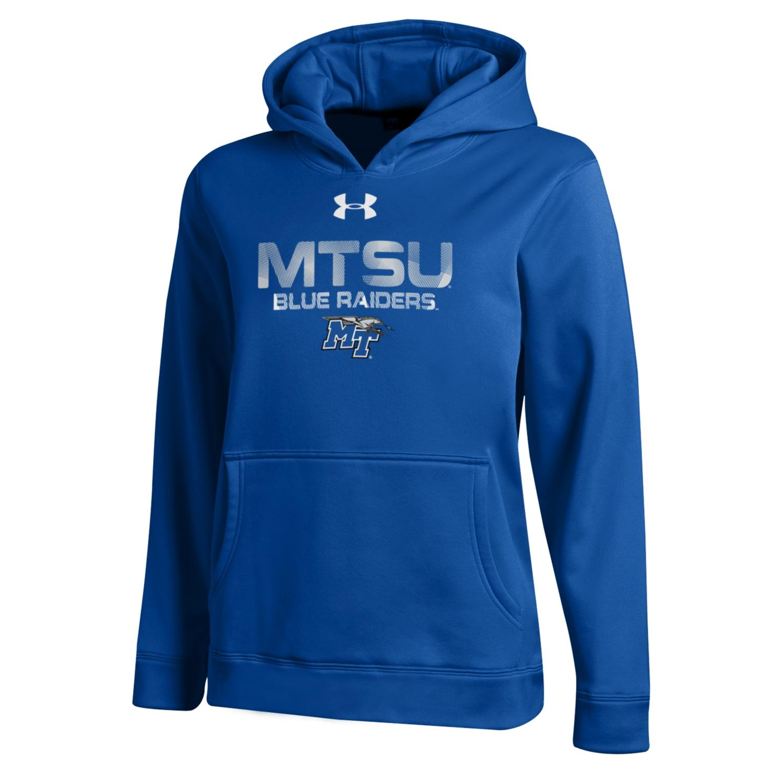 MTSU Blue Raiders Youth Performance Hoodie