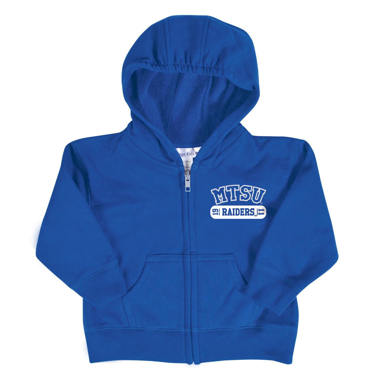 MTSU Raiders Toddler Full Zip Hoodie