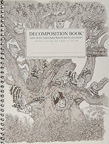Cal Bears Coilbound Decomposition Book 'Screech Owls'