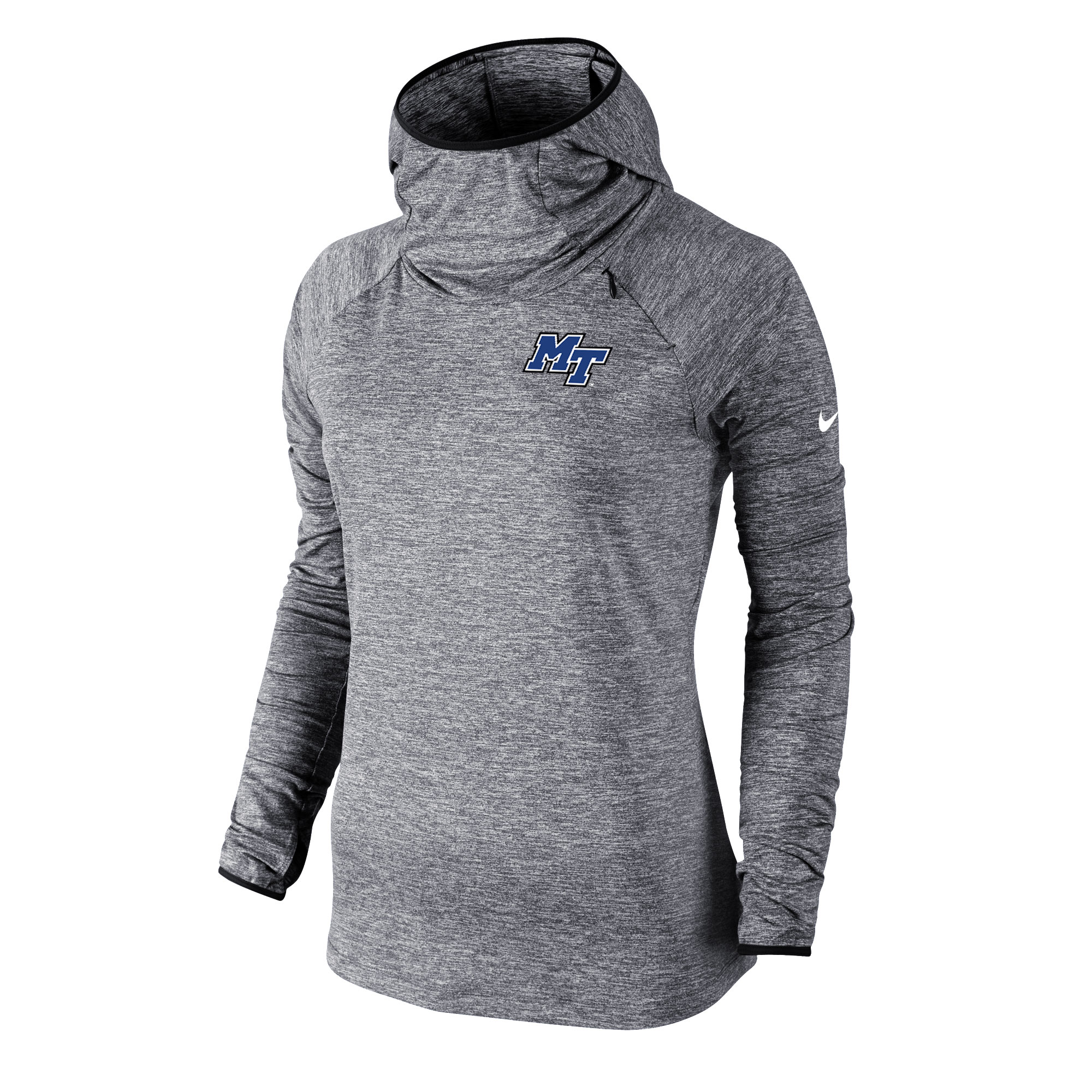 MT Logo Women's Element Hooded Long Sleeve Shirt