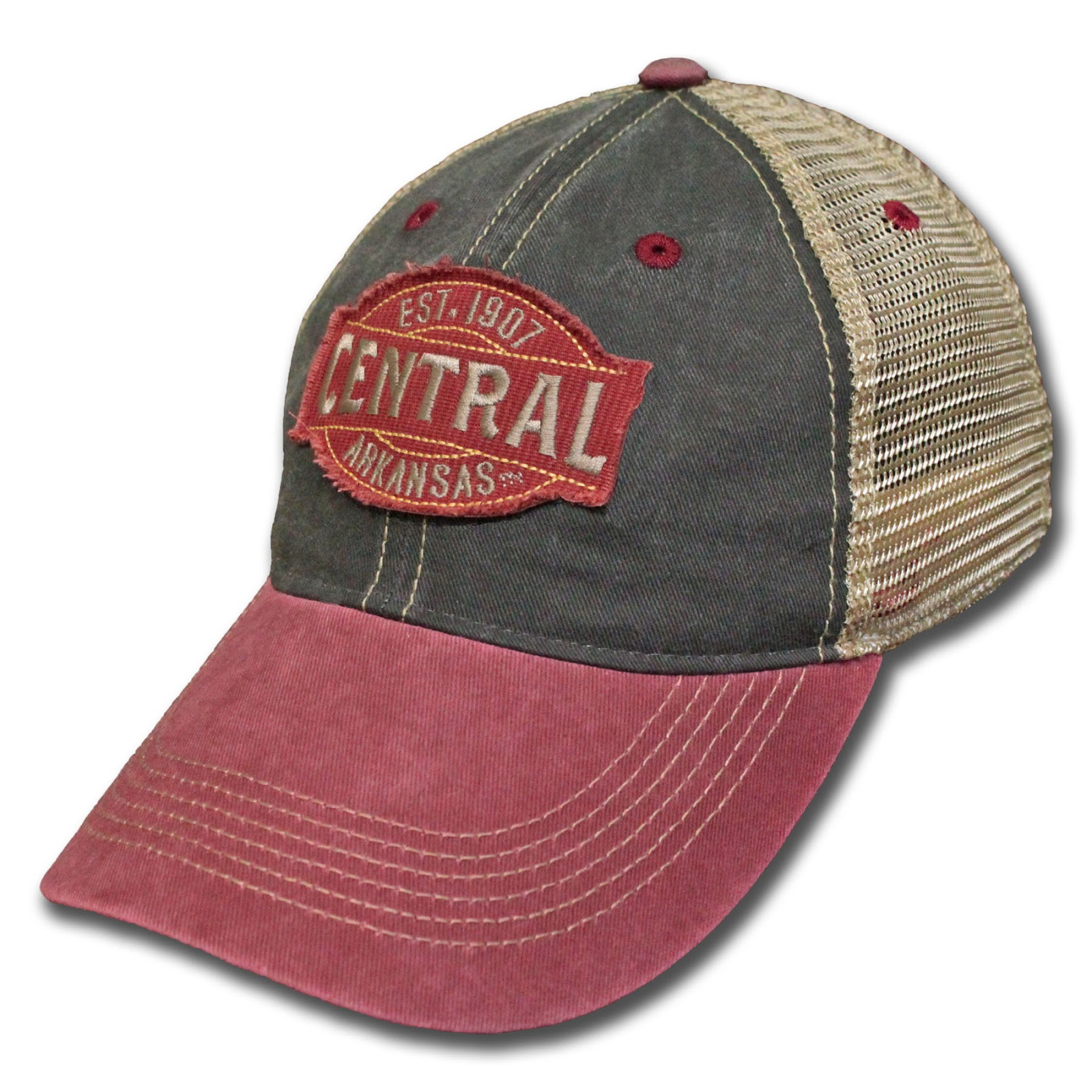 Central Legend Vintage Wash Trucker Cap