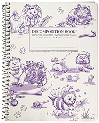 Cal Bears Coilbound Decomposition Book 'Costume Hops'