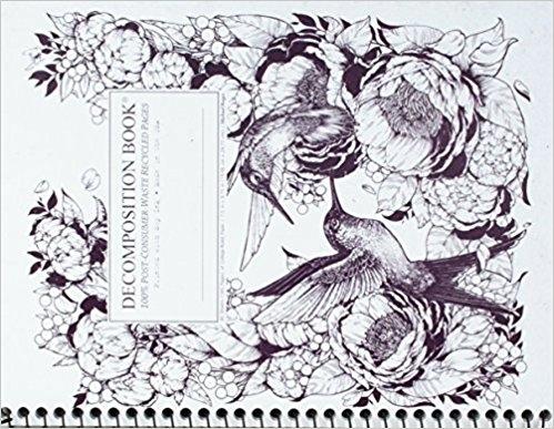 Cal Bears Coilbound Decomposition Book 'Hummingbirds'