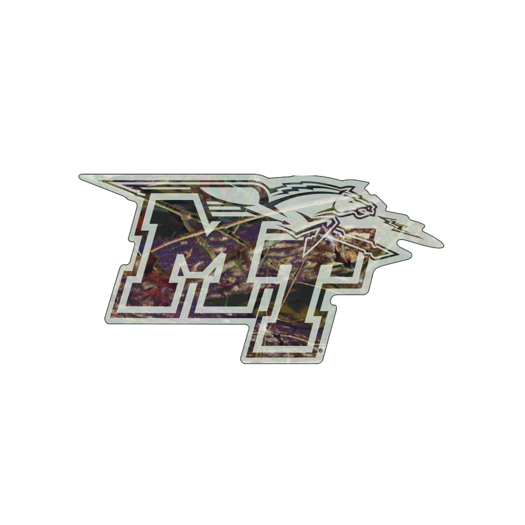 MT Logo Camo Decal