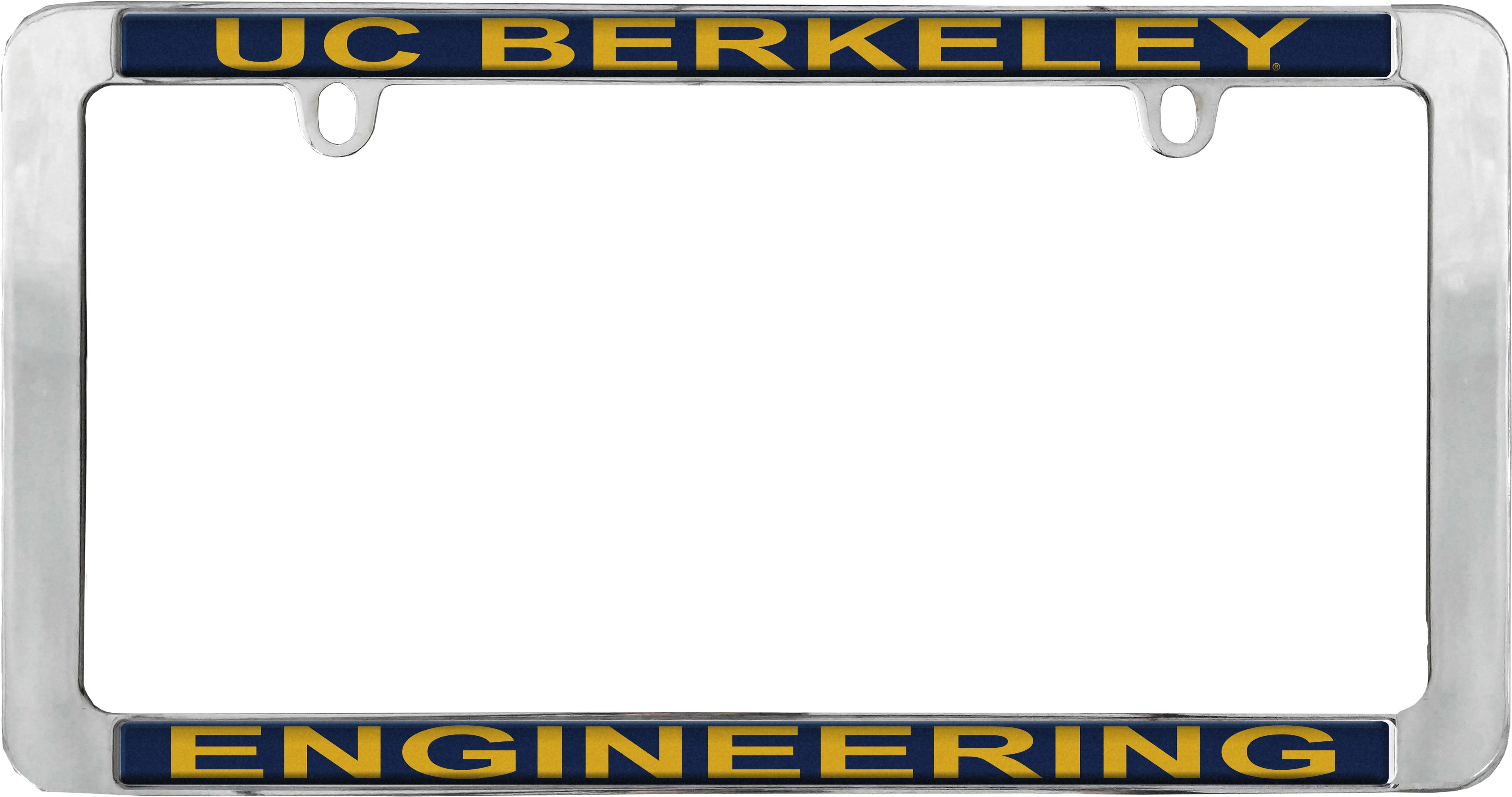University of California Berkeley License Plate Frame Engineering