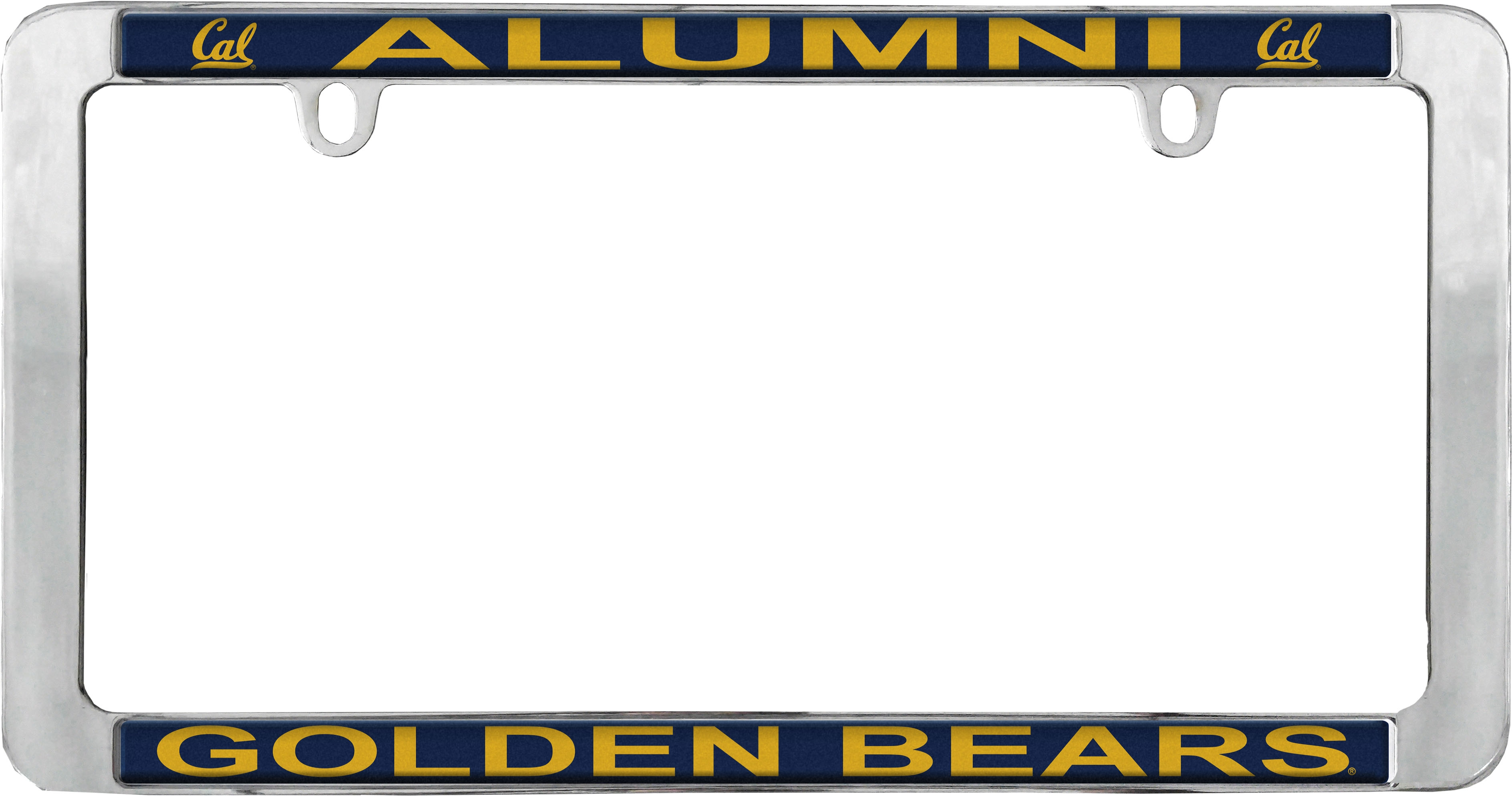 University of California Berkeley License Plate Frame Alumni