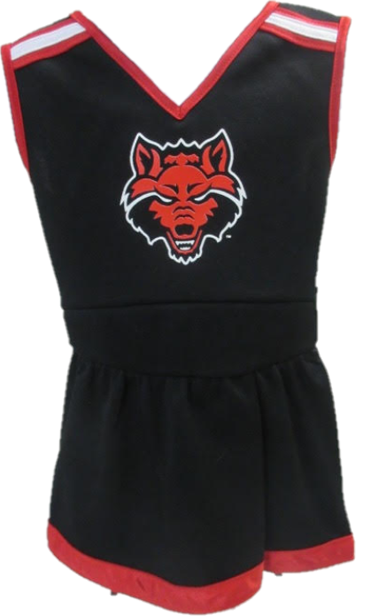 Red Wolves 1 Piece Cheer Dress