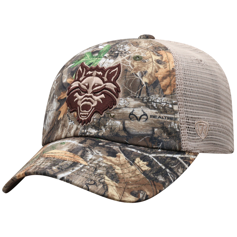 Red Wolves Acorn Adjustable Hat