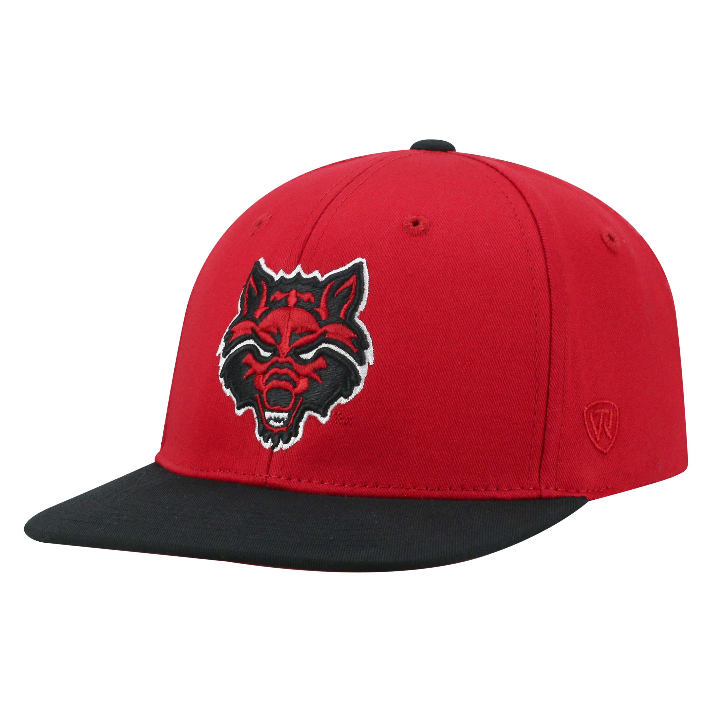 Red Wolves Maverick Adjustable Youth Hat
