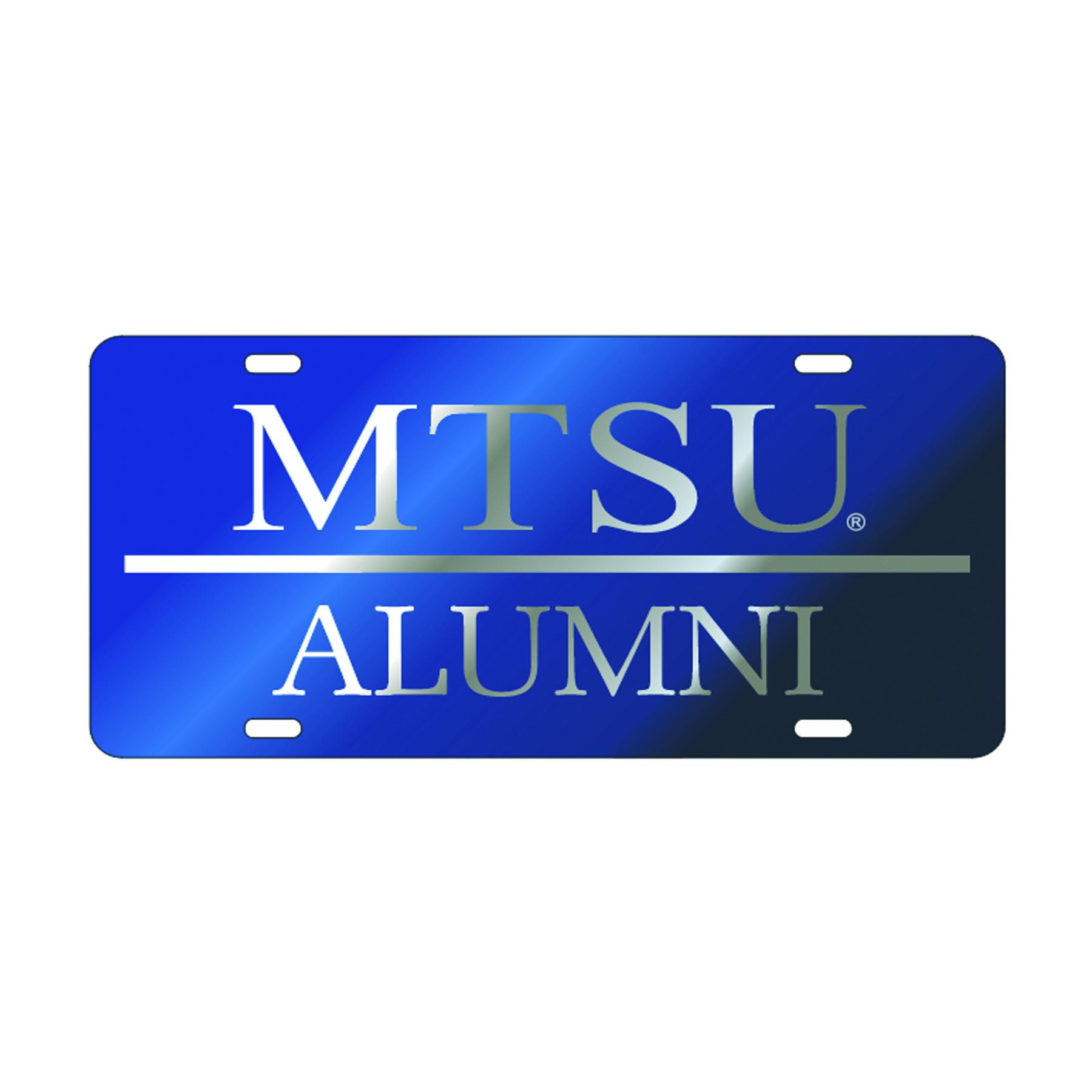 MTSU Alumni License Plate