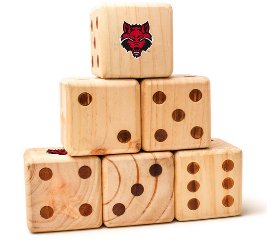 Arkansas State Red Wolves Yard Dice