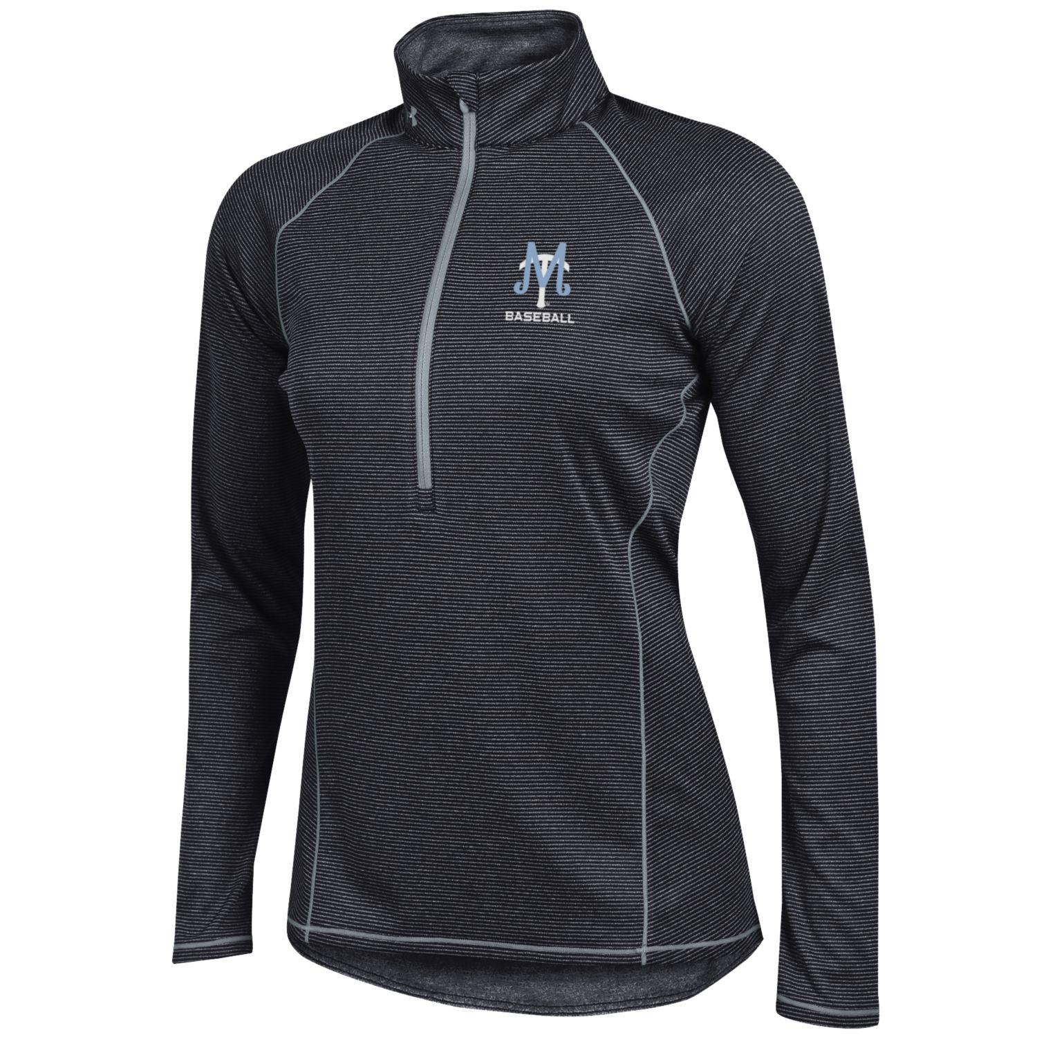 MT Baseball Logo Women's 1/2 Zip Tech
