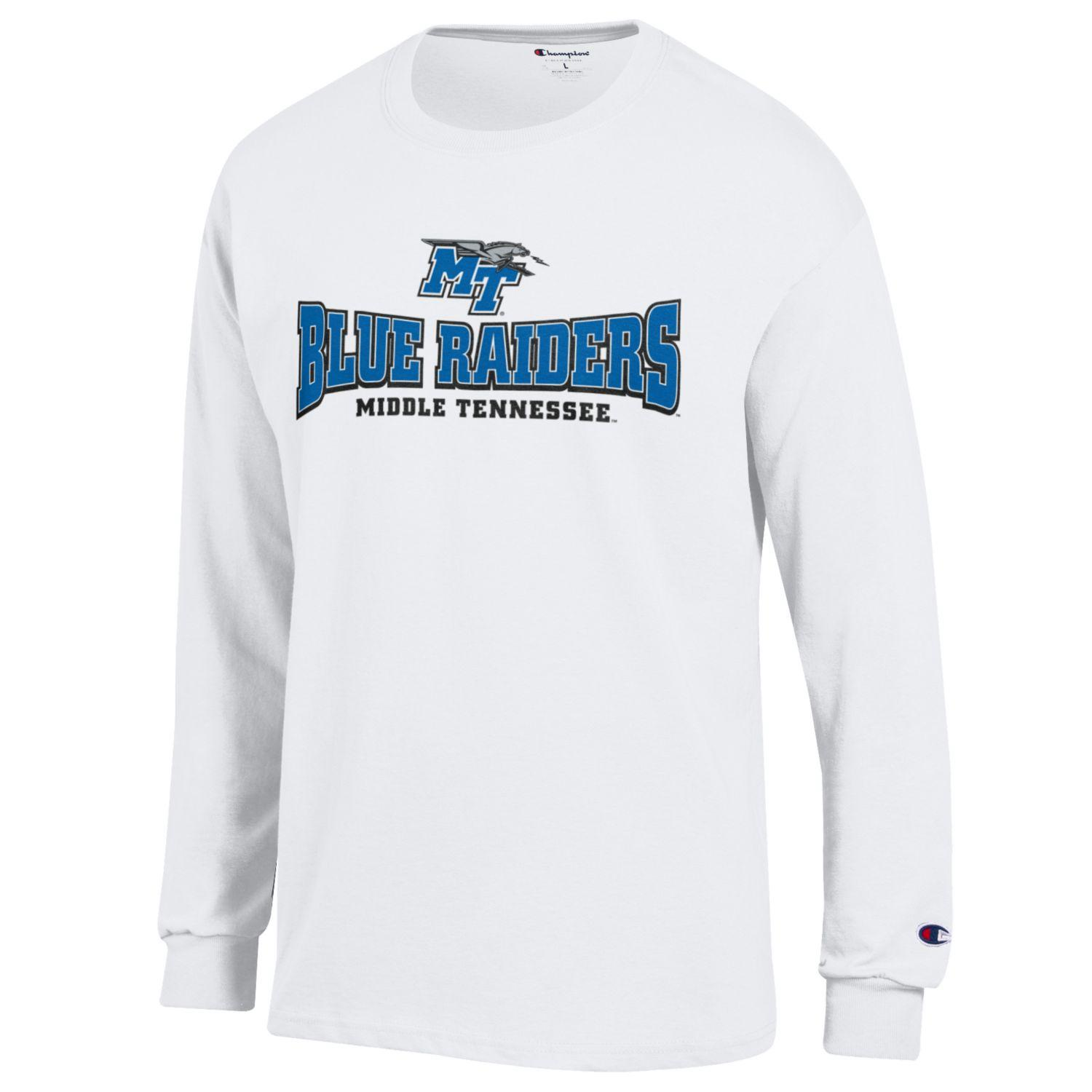 Blue Raiders Middle Tennessee Long Sleeve Shirt