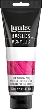 Liquitex Basics Acrylic Modeling Paste 250 ml