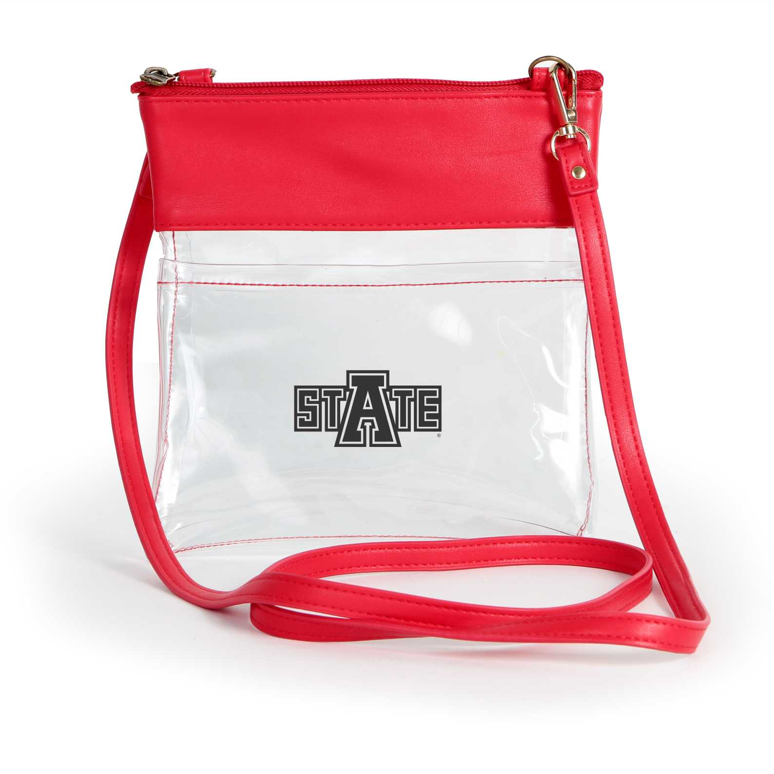 Arkansas State Clear Gameday Crossbody Tote