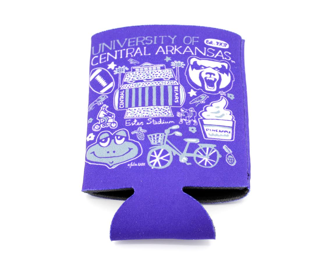 Central Arkansas Koozie