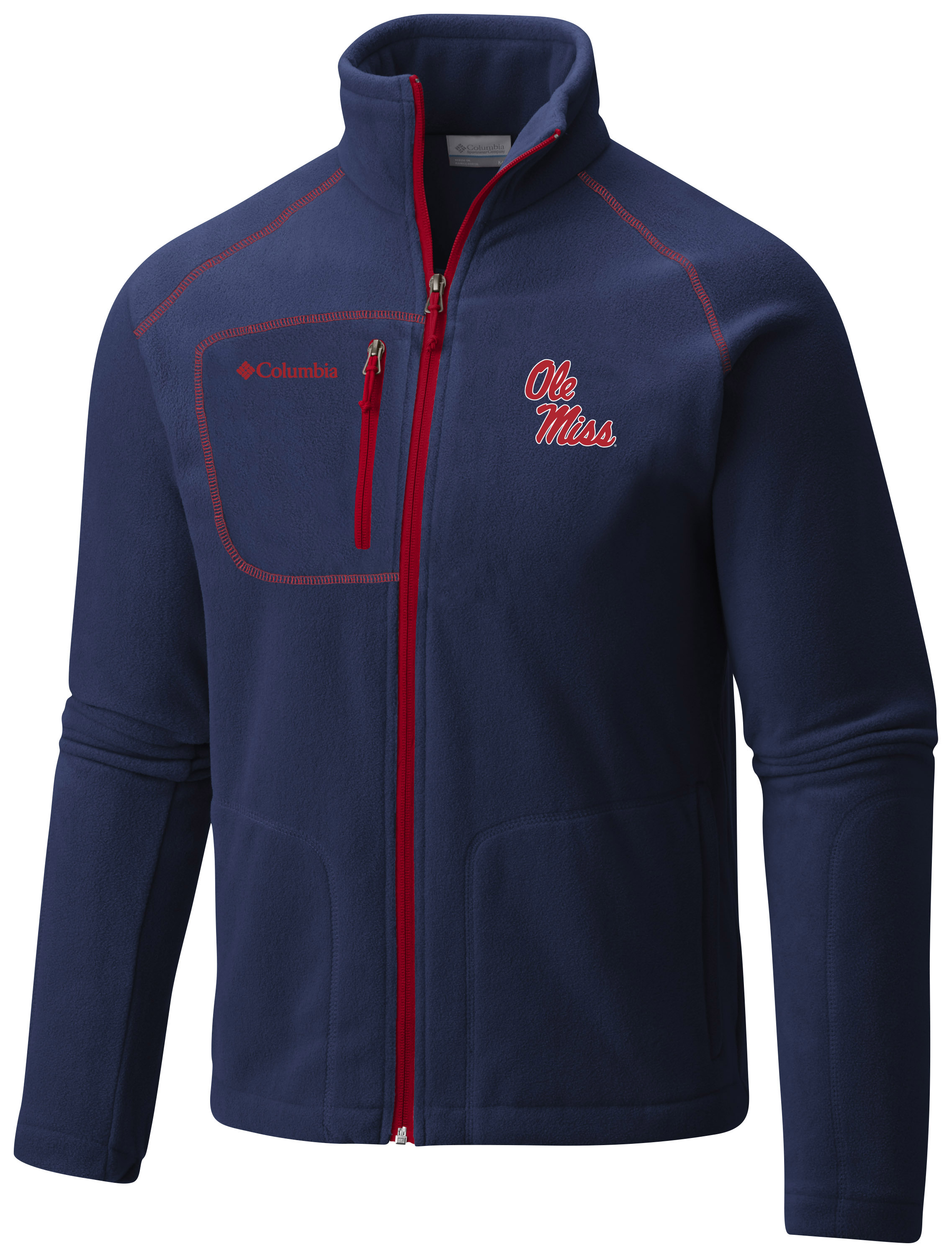 Columbia Navy Fast Trek II Full Zip Fleece
