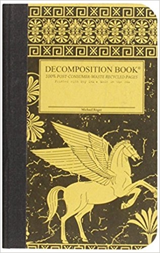 Cal Bears Pocket 4x6 Decomposition Book 'Pegasus'