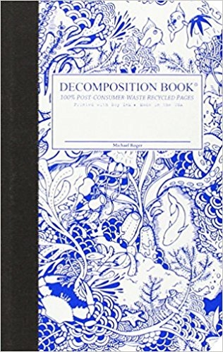 Cal Bears Pocket 4x6 Decomposition Book 'Under the Sea'