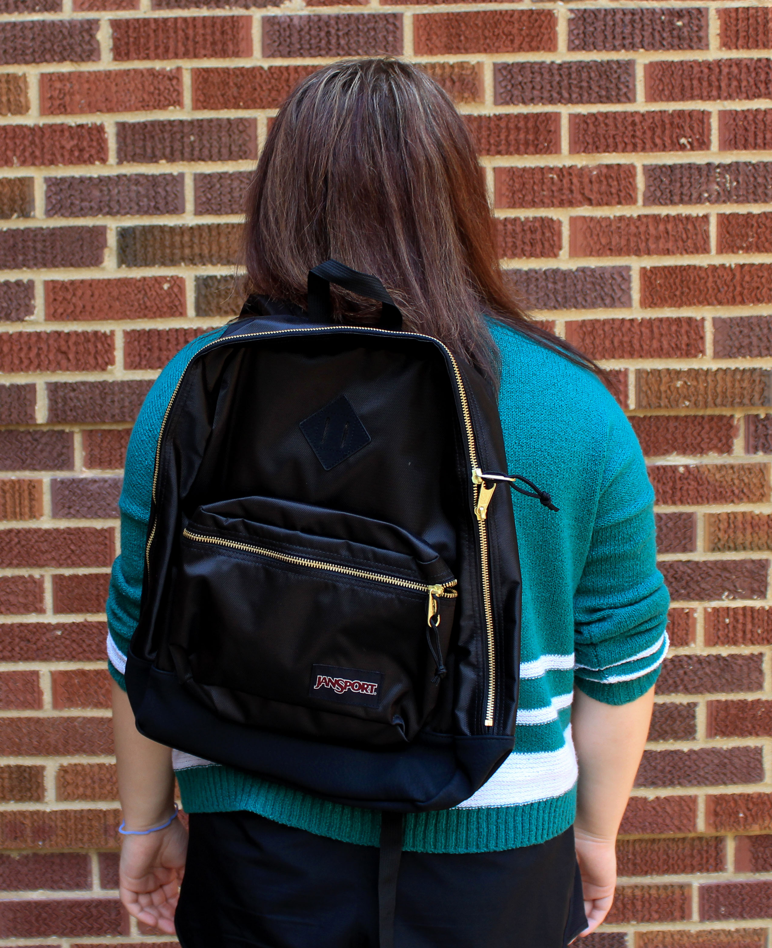 Super FX Black and Gold Backpack
