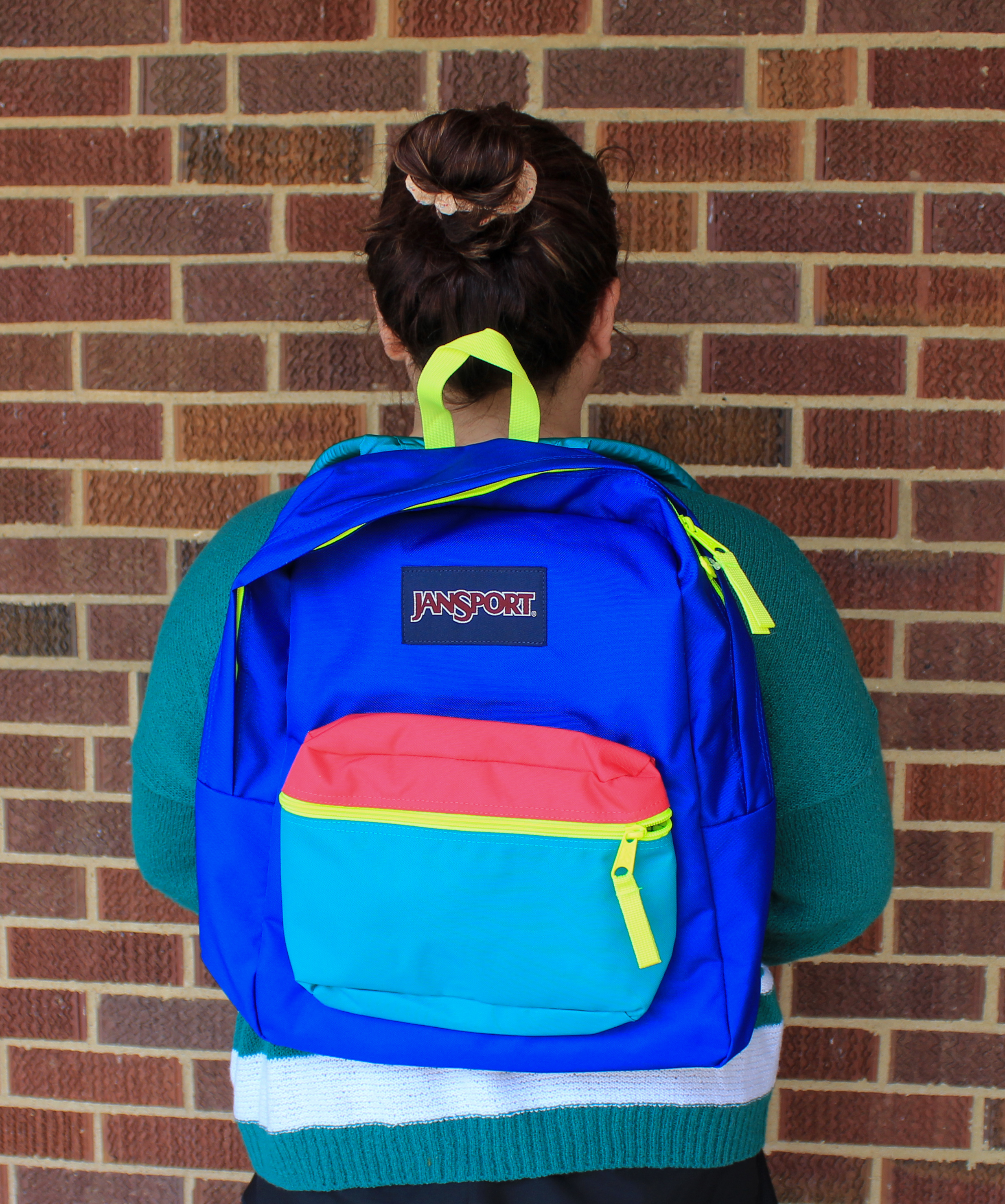Exposed Neon Backpack