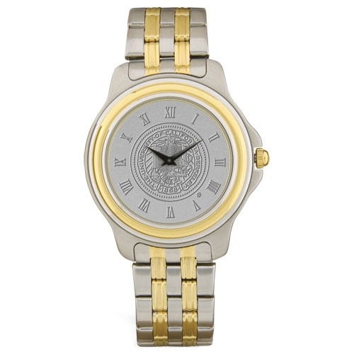 M Wrist Watch Two Tone Stainless Steel