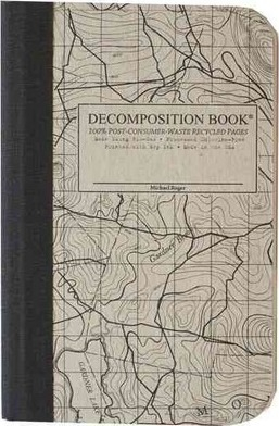 Cal Bears Pocket 4x6 Decomposition Book 'Topographical'