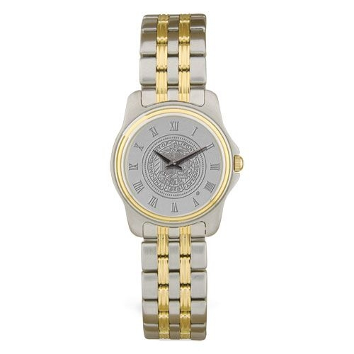 University of California Berkeley Women's Wrist Watch Two Tone Stainless Steel