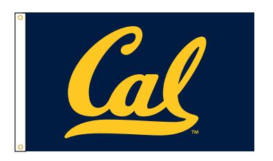 CAL Bears 3' x 5' Outdoor Flag
