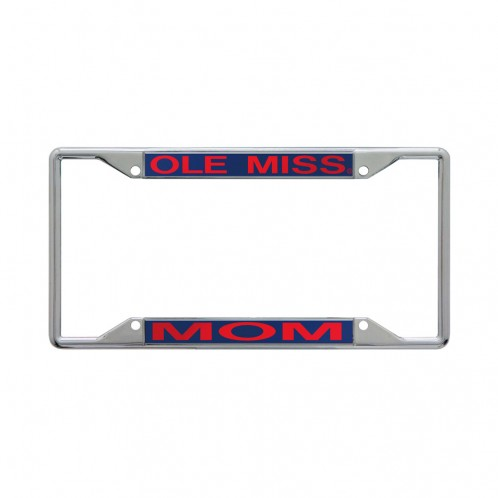 Ole Miss Mom Navy Tag Frame