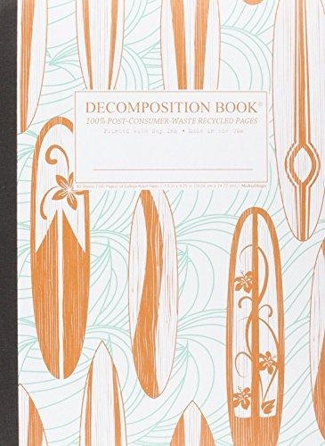 Cal Bears Decomposition Book 'Classic Surfboads'