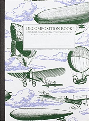 Cal Bears Decomposition Book 'Airships'