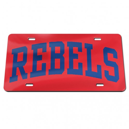 Acrylic Red Rebels Tag