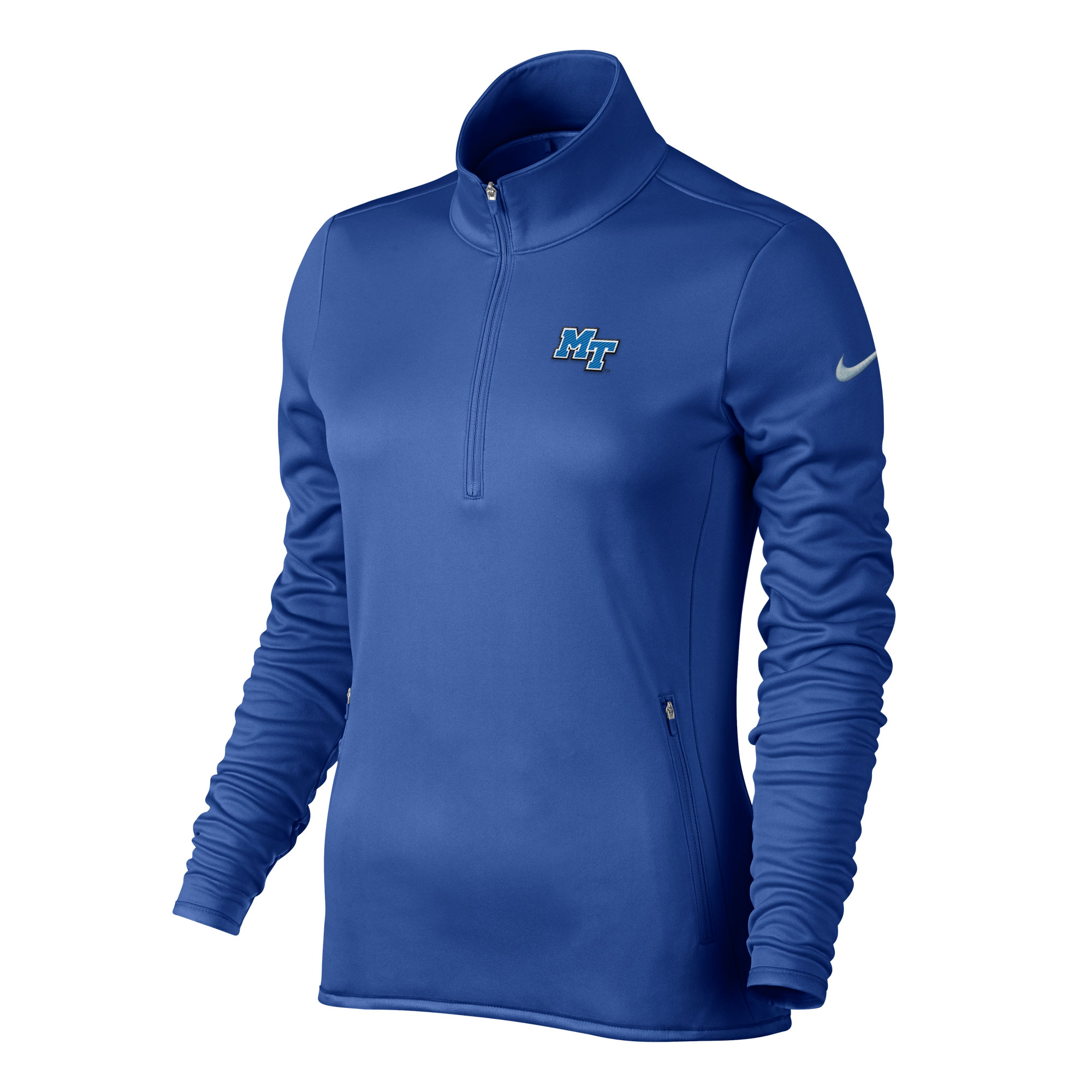 MT Logo Women's Thermal Nike® Golf 1/2 Zip Pullover