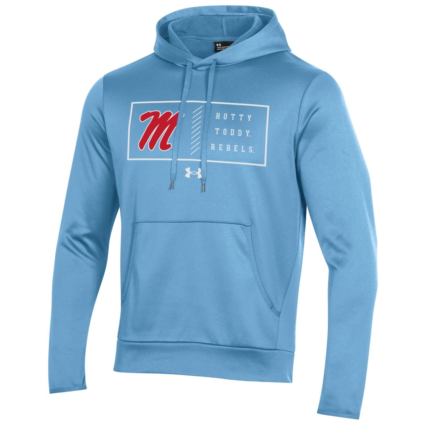 Under Armour Polyester Performance Hoodie Powder Blue