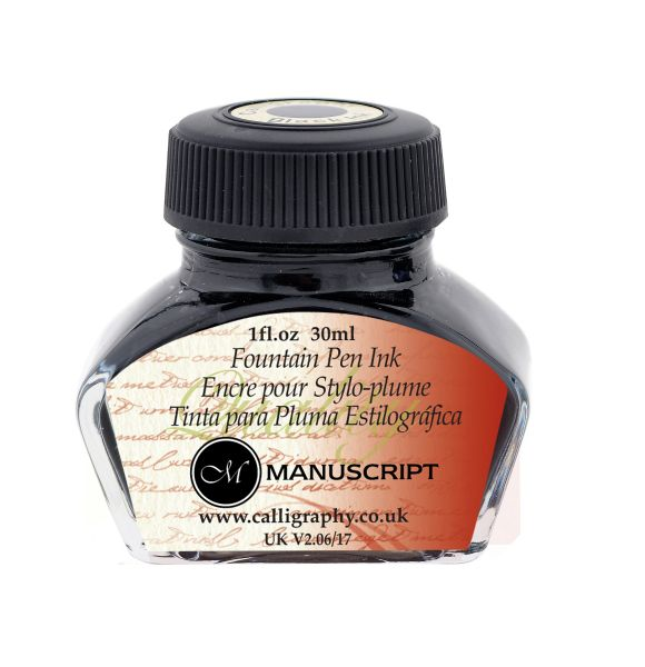 Manuscript Fountain Pen Ink Black