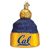 Old World Christmas Cal Beanie Ornament