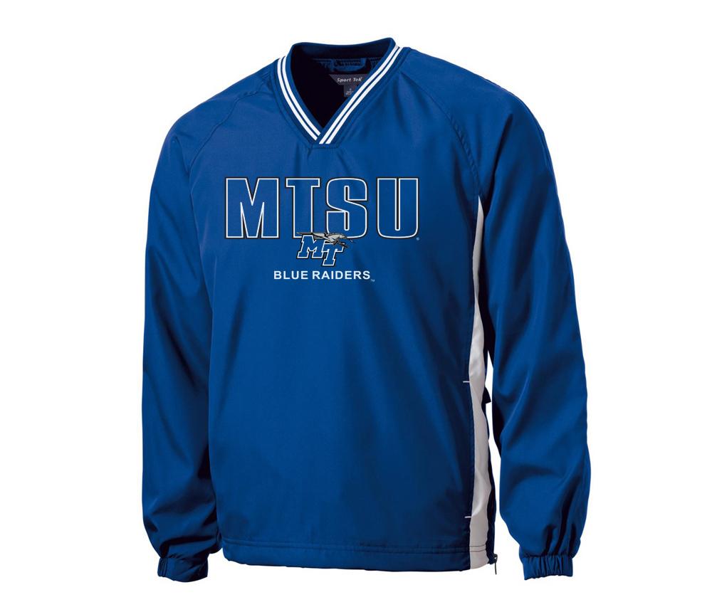MTSU Blue Raiders Raglan Windshirt