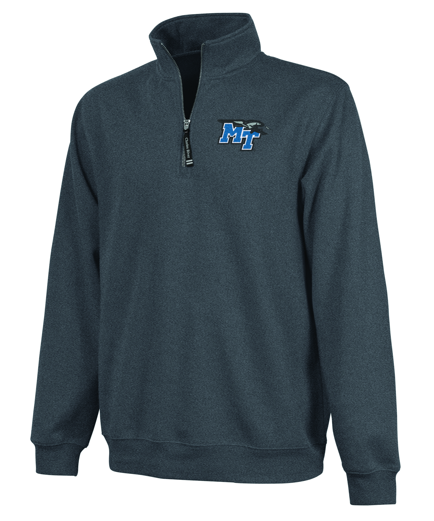 MT Logo Crosswind Quarter Zip Sweatshirt