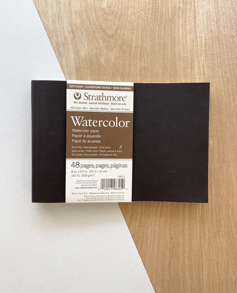 """Strathmore Watercolor Journal, Softcover, 8""""x5.5"""""""