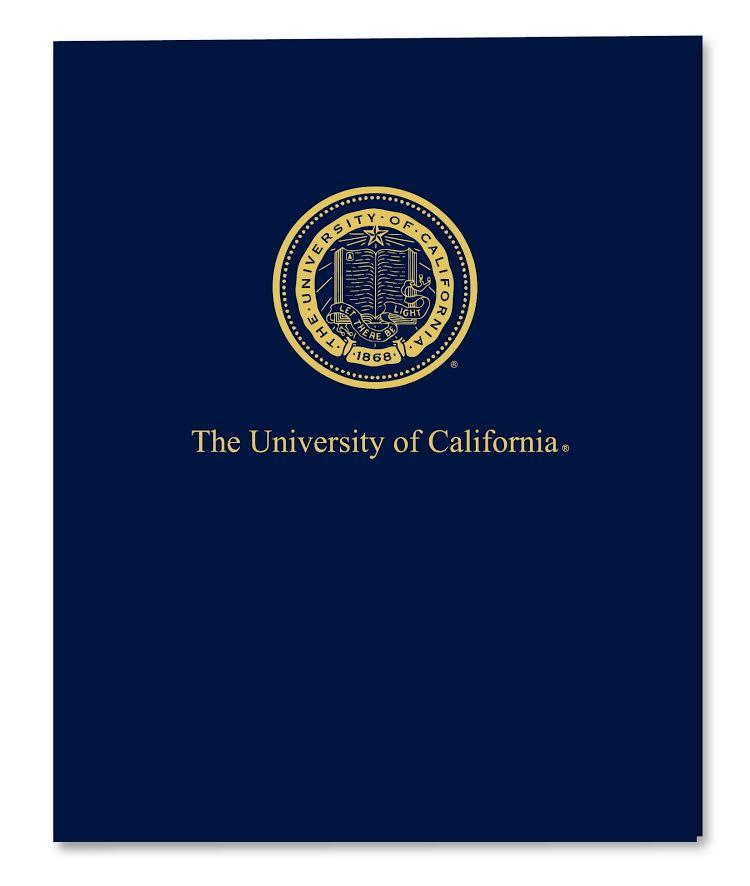 University of California Berkeley Seal Folder