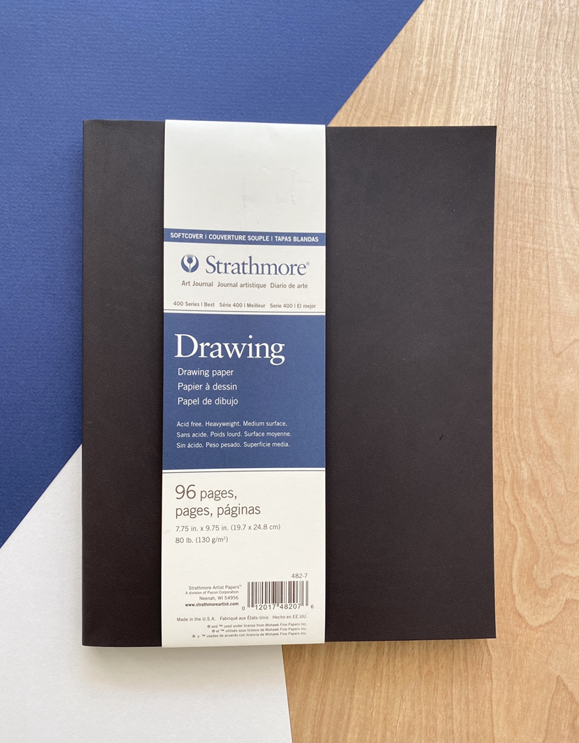 """Strathmore Drawing Journal, Softcover, 7.75""""x9.75"""""""